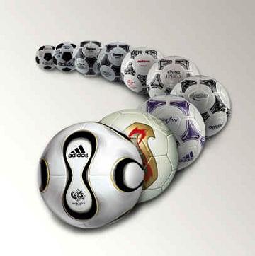 历届世界杯用球